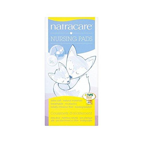 Natracare Natural Nursing Pads 26 per pack - Pack of 6