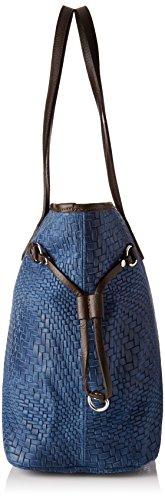 de Blu Mujer Borse 80061 hombro Azul y bolsos Shoppers Chicca ZfSXqn4W