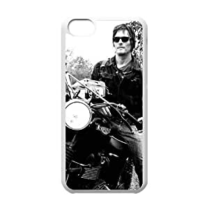 C-EUR Print The Walking Dead Pattern Hard Case for iPhone 5C