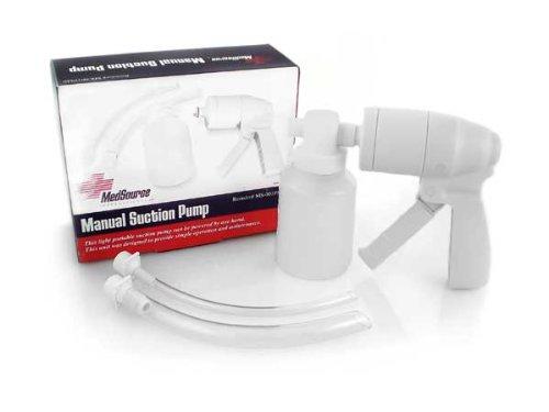 Manual Suction Pump, White, Non Sterile