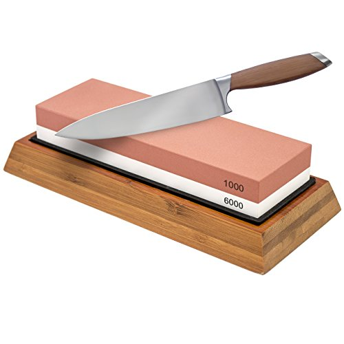 Why Should You Buy Sorbus Knife Sharpening Stone 1000/6000 Grit - Professional Grade Double-sided Wh...