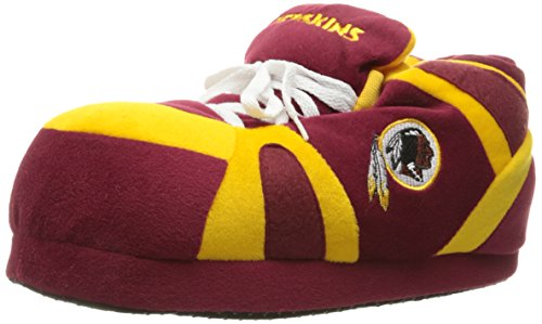 Comfy Feet Men's Washington Redskins 01 Indoor Slippers,Burgundy/Gold,XXL M US by Comfy Feet