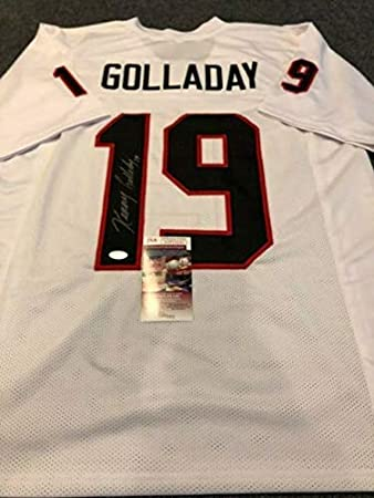 purchase cheap 35d71 f6800 NORTHERN ILLINOIS KENNY GOLLADAY AUTOGRAPHED SIGNED JERSEY ...
