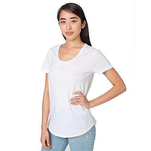 shirt American Apparel Moderne Blanc Small Femme T qHgPwxHa