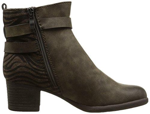 Marco Tozzi 25378 - botas de material sintético mujer marrón - Braun (braun (PEPPER ANT.COM 337))