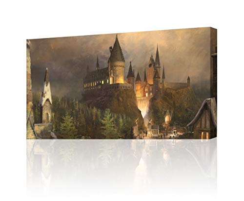 Hogwarts Harry Potter Canvas Print Wall Art Decor Giclee4 Sizes CA140, Huge