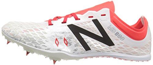 D'athlétisme orange Chaussures New Balance Spikes Md800v5 Blanc white Femme nFnIUWwxq