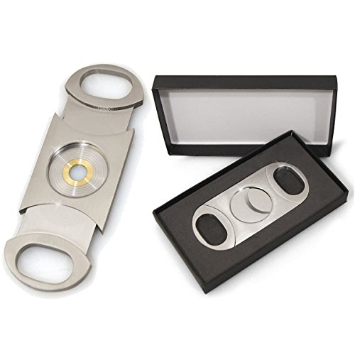Cigar Cutter (Cuban Crafters Perfect Cigar Cutter Dos Chabetas Up To 80 Ring Gauge)