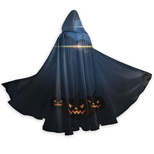 Again&Again Halloween Hooded Cloak Long Cape for Christmas Halloween Cosplay Costumes 59inch ()