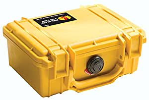 Pelican 1120 Case with Foam for Camera (Yellow)