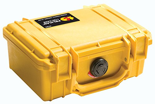 - Pelican 1120 Case With Foam (Yellow)