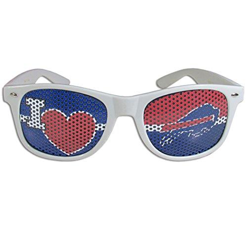 NFL Buffalo Bills I Heart Game Day Shades, - Bills Sunglasses