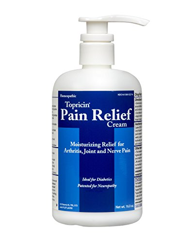 Topricin Pain Relief Therapy Cream (16 oz) Fast Acting Pain Relieving Rub
