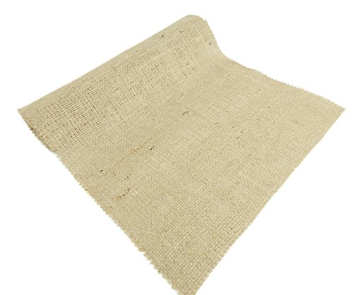 Burlap and Beyond 14'' Natural Burlap Roll - 50 Yards Eco-Friendly Jute Burlap Fabric Unfinished Edges 14 Inch by Burlap and Beyond (Image #2)
