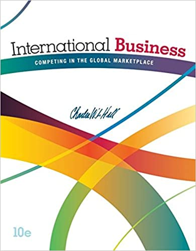 International business competing in the global marketplace international business competing in the global marketplace 10th edition fandeluxe Images