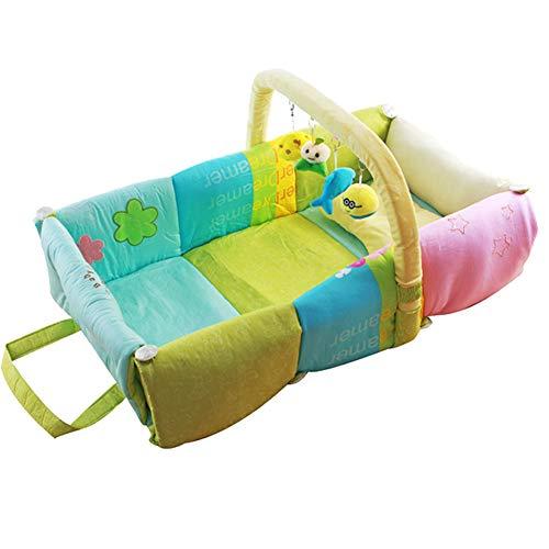 Buxuxbue Sleep Pod Ergonomic Positioner Comfortable, Soft, Cotton Does Not Harm Your Baby's - Positioner Cradle