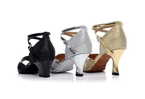 Miyoopark , Salle de bal femme - Argent - Silver-6cm Heel, 35