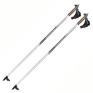 Alpina CX 05 50% Carbon Skate or Classic Cross Country Nordic Ski Poles, 150cm, Pr.