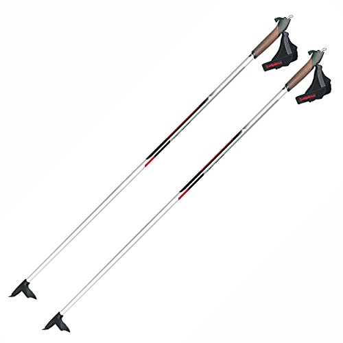 Alpina CX-05 50% Carbon Skate or Classic Cross-Country Nordic Ski Poles, 145cm, Pr. by Masters