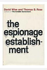 The espionage establishment Hardcover