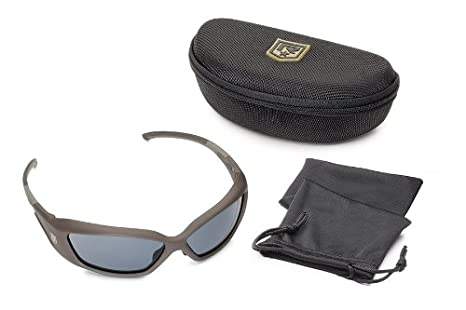 db065f39d15 Amazon.com  Revision Military Hellfly Ballistic Sunglasses 4-0491-0022  Hellfly Ballistic Sunglasses Black Frame with Flame Mirror Lenses