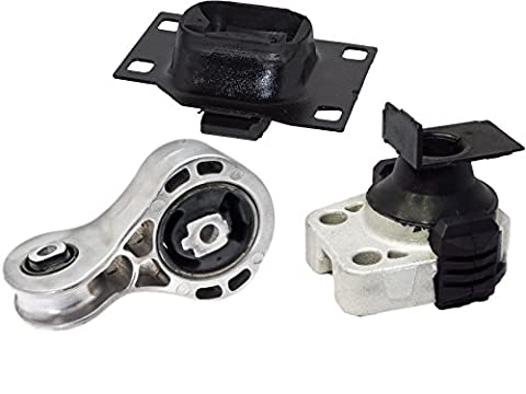 Engine Motor & Transmission Mount Set for 2008-2011 Ford Focus 2.0L A2986 A5312HY A5322 - Ford Focus Engine Mount
