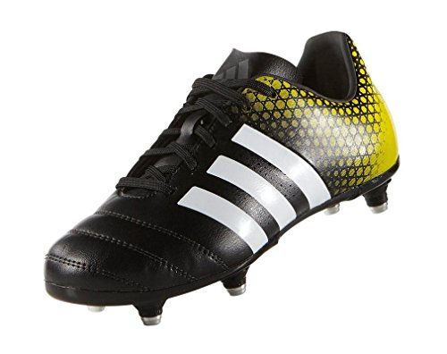 Adidas Crampons blanc Enfants Kakari 3 Rugby jaune De Noir Regulate 0 Sg UrwUBT