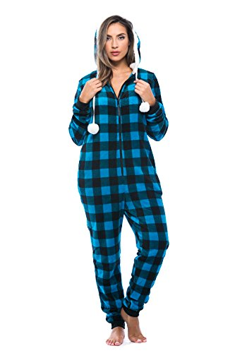 Just Love 6290-TRQ-L Adult Onesie/Pajamas
