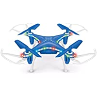 Peanutcool 2.4G 4CH 6 Axis Gyroscope 3D RC Remote Control UFO Helicopter Aircraft (Blue)