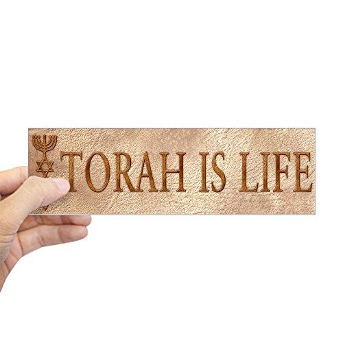 CafePress Torah is Life (Seal) Bumper Sticker 10
