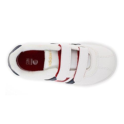adidas Vlcourt Cmf Inf Zapatillas infantiles de f97924 blanco