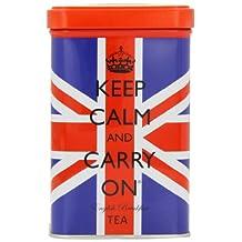 Keep Calm And Carry On Union Jack Tea Tin 125 G