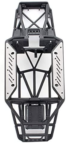 KYX Racing Stainless Steel Side Protective Plate Frame Protector Chassis Guard Board Upgrades Accessories for RC Crawler Car Axial Capra Unlimited Trail Buggy UTB