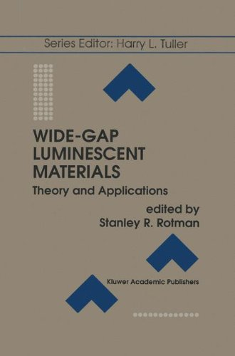 Wide-Gap Luminescent Materials: Theory and Applications (Electronic Materials: Science & ()