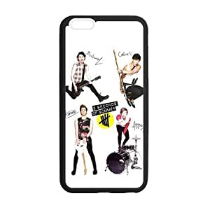 5 Seconds of Summer 5SOS Pattern Custom Phone Case Laser Technology for iPhone 6 Plus Designed by HnW Accessories