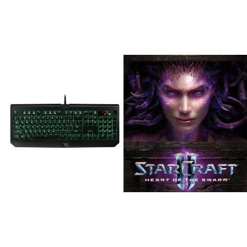 (StarCraft II: Heart of the Swarm - PC/Mac [Digital Code] and Keyboard Bundle)