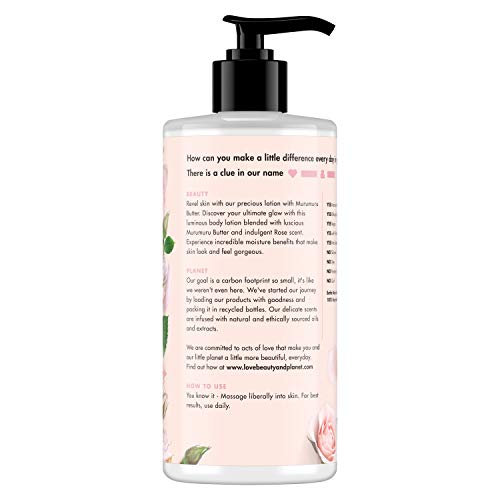 Love Beauty & Planet Body Lotion Delicious Glow 13.5 oz
