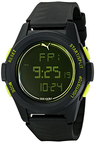 PUMA Men's PU9111610 Vertical Digital Display Quartz Watch