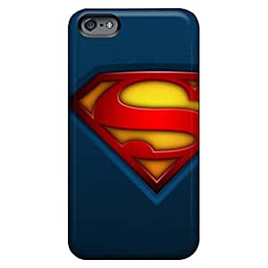 Defender mobile phone carrying shells Cases Covers For Iphone covers iphone 4s - dc comics superman logos superman logo