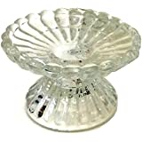 Biedermann & Sons Dual Purpose Glass Candle Holders (Box of 6)