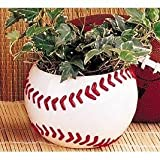 Ceramic Baseball Planter Great for Kids Room,Sports Fans and Home and Office Decor For Sale