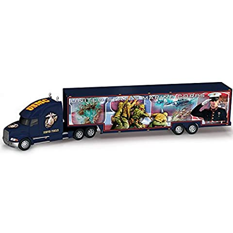 USMC 1:16 Scale Hauler With James Griffin Military Artwork: Proud To Serve by The Hamilton (Military Vehicles 1 18)