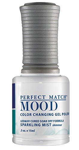 LECHAT Perfect Match Mood Gel Polish, Sparkling Mist, 0.500 Ounce