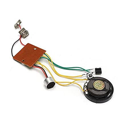 Amazon quickbuying max 10 seconds recordable voice module sound quickbuying max 10 seconds recordable voice module sound chip recoder for greeting card music toy durable m4hsunfo