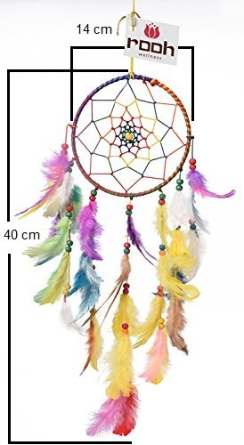 d7c469801 Buy Rooh Odishabazaar Multi Dream Catcher Wall Hanging - Attract Positive  Dreams Online at Low Prices in India - Amazon.in