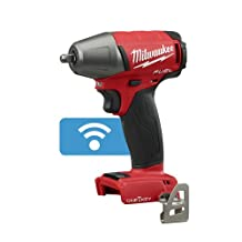 "Milwaukee 2758-20 M18 FUEL 3/8"" Compact Impact Wrench w/ Friction Ring; Torque = 210 ft-lbs (2,520 in-lbs); with ""ONE-KEY""- 4 Mode (Bare Tool)."