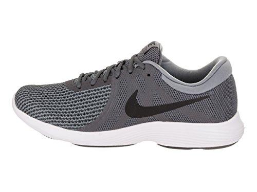 Nike Herren Revolution 4 Laufschuhe Dunkelgrau / Schwarz Cool Grey