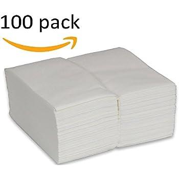 Amazon Com Cloth Like Paper Guest Hand Towels Linen Feel