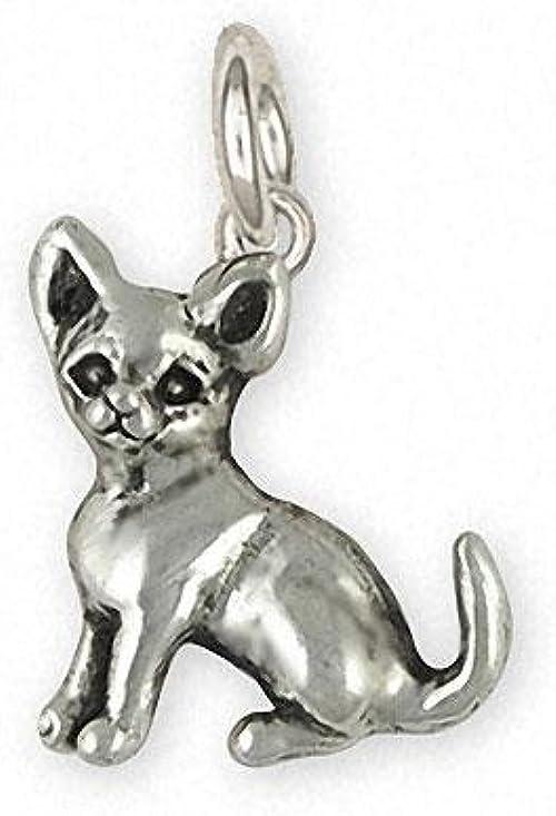 Chihuahua Jewelry Sterling Silver Chihuahua Chihuahua Charm Jewelry  CHW1-C