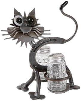 Salt and PepperホルダーLucky Kitty Yardbirdsリチャード・Kolb